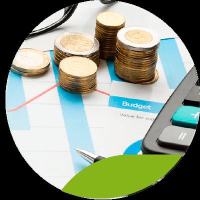 Consultoria y negocio - monedas